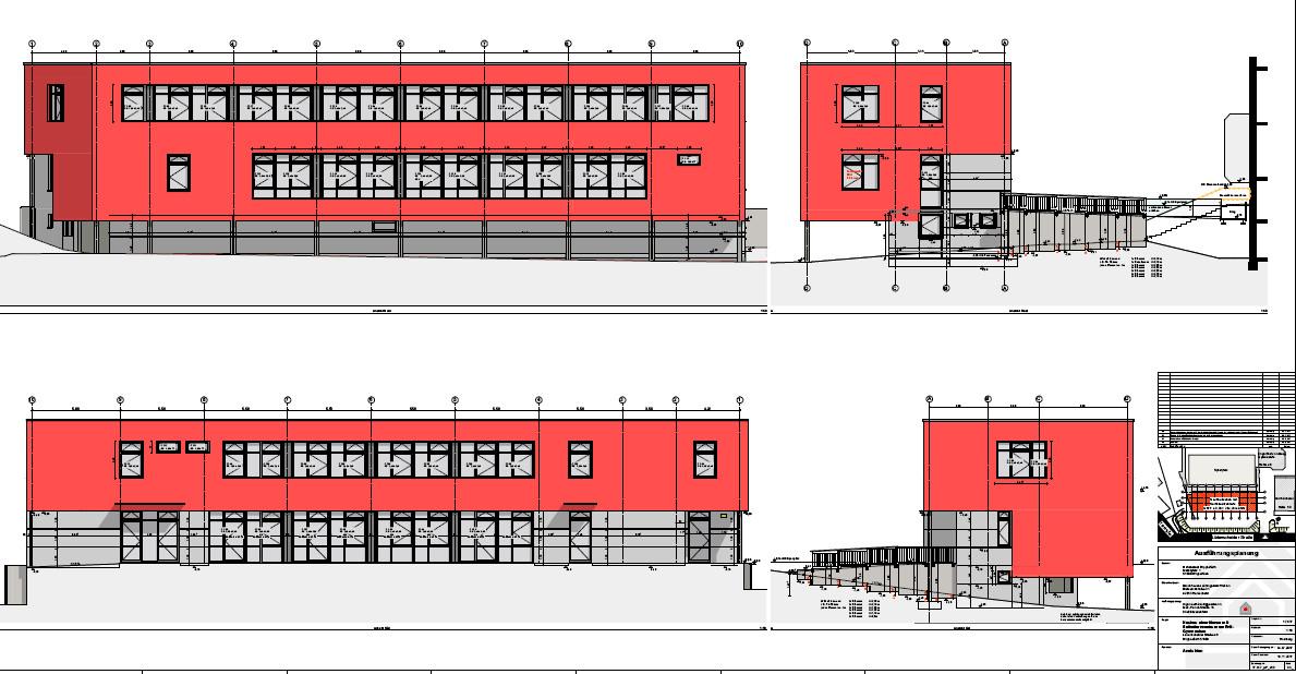 Neubau der Mensa mit Selbstlernzentrum am EvB-Gymnasium