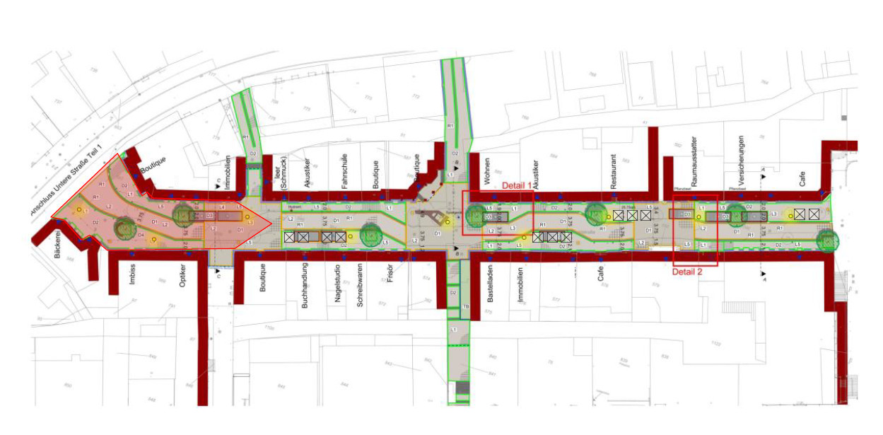 Bauabschnitt Marktstraße
