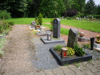 Reihengräber Urnenbestattung